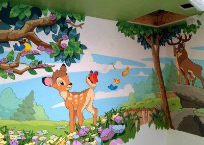 художественное оформление детской комнаты