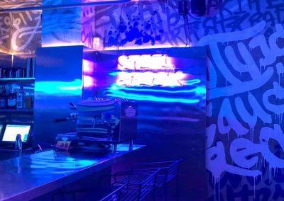 роспись стен в баре