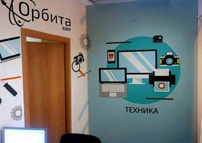 роспись офиса