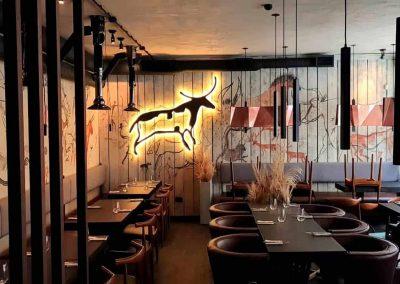 роспись стен в ресторанае