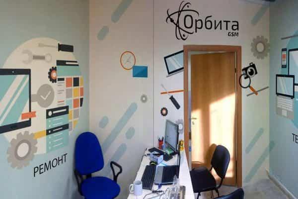 Роспись стен в офисах