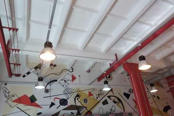 Роспись стен в выставочных залах