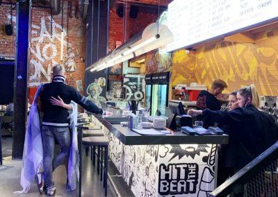 Роспись в баре Punk Brew в Санкт-Петербурге