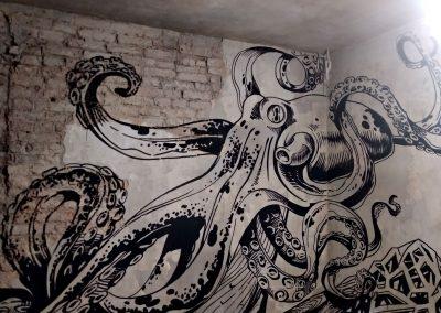 Роспись в ресторане Flor Санкт Петербург